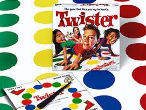 Juegos de mesa para niños - Twister