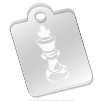 Llaveros de ajedrez - Rey