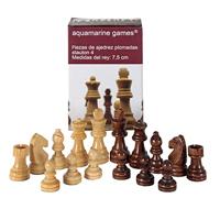 Piezas del ajedrez calidad madera