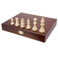 Piezas de ajedrez estuche elegante
