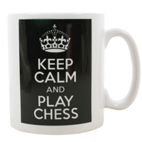 Tazas de ajedrez - keep calm