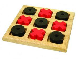 Juegos de mesa para niños - 3 en raya