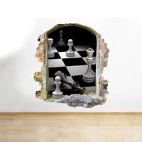 Vinilo de ajedrez - Habitación 2