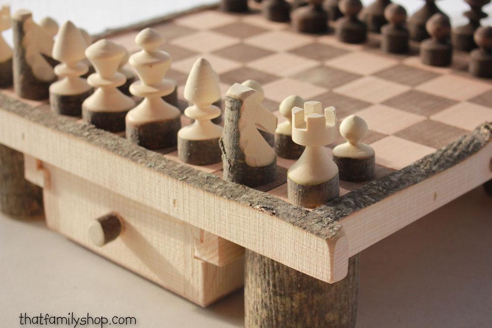 ajedrez artesanal elaboracion manual