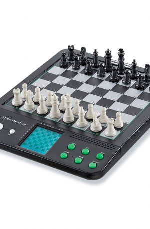 tablero de ajedrez electronico magnetico