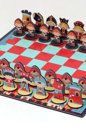 ajedrez infantil para niños