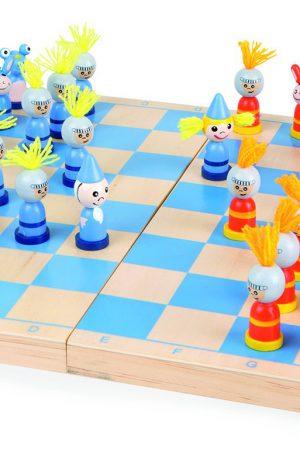 ajedrez para niños figuras plastico
