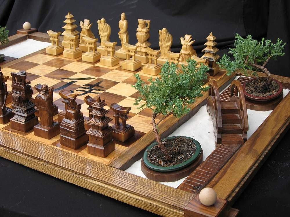 tablero-ajedrez-artesanal-etsy