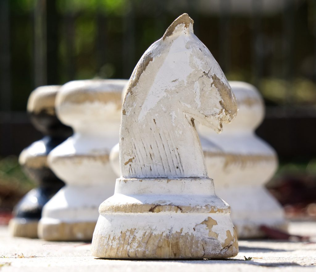 caballo ajedrez pieza